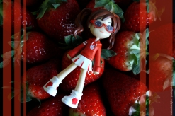 strawberry wall