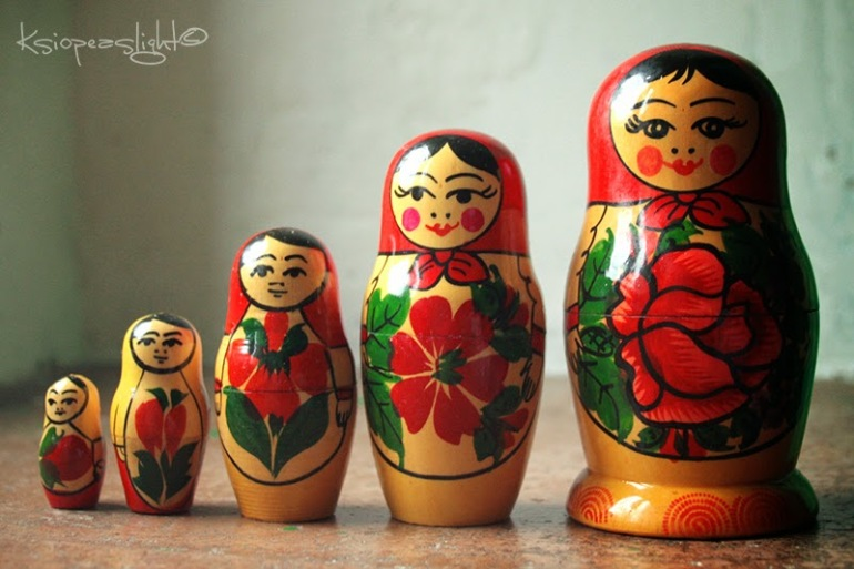 Matrioska, muñeca rusa