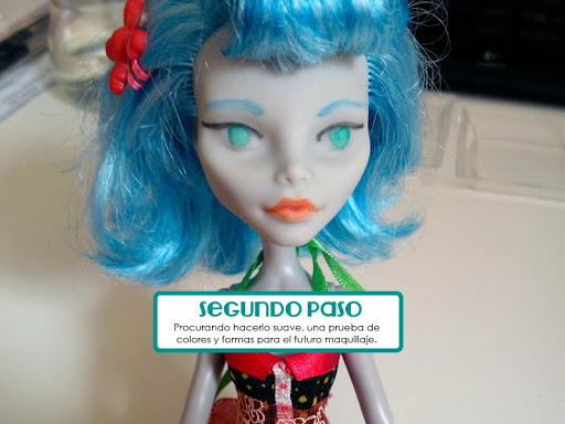 Monster High Customization - Goulia Yelps Repaint