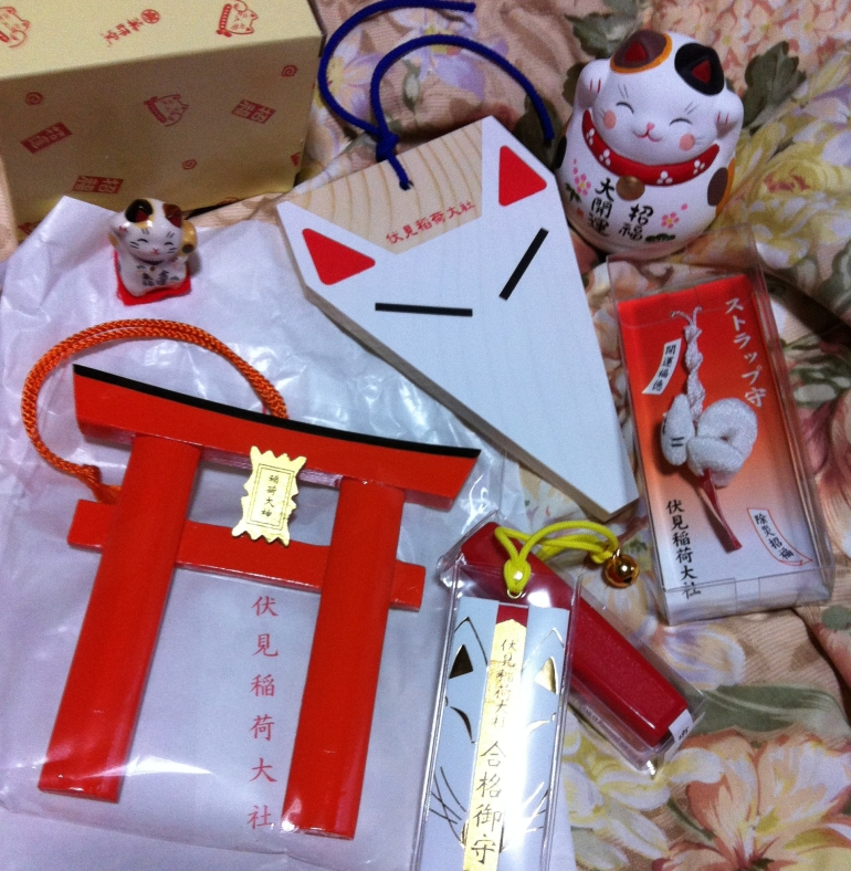 Regalos y recuerdos del Fushimi Inari