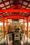 Altar en el templo en Okunoin