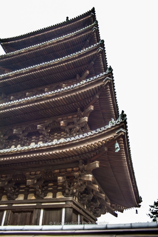 Detalle de pagoda