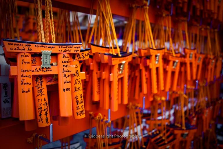 Peticiones en Fushimi Inari
