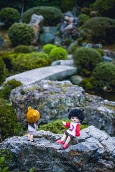 Ude y Ksio en Tōfuku-ji