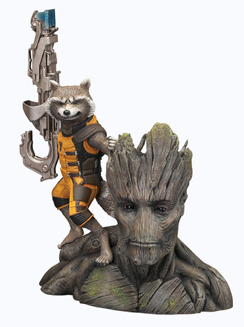 Guardianes de la galaxia - Groot y Rocket