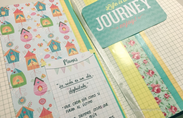 Life is a Journey Scrapbooking design by Ksiopeaslight