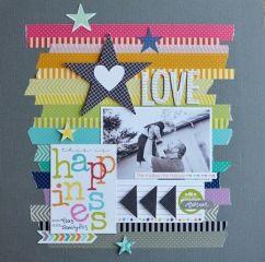 scrapbooking love happiness