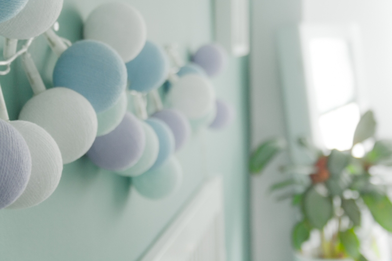 farolillos para luz ambiente en el dormitorio