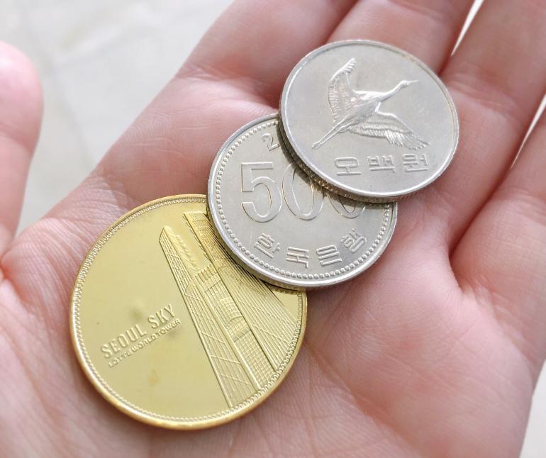 Moneda coreana won