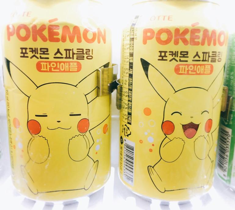 Pikachu lata bebida