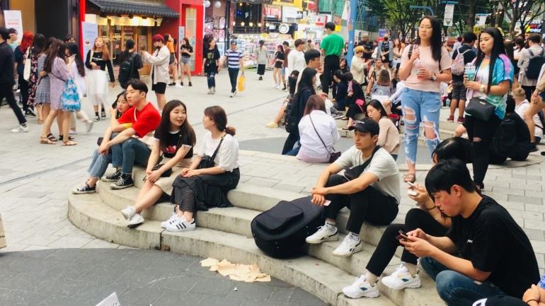 Público en hongdae