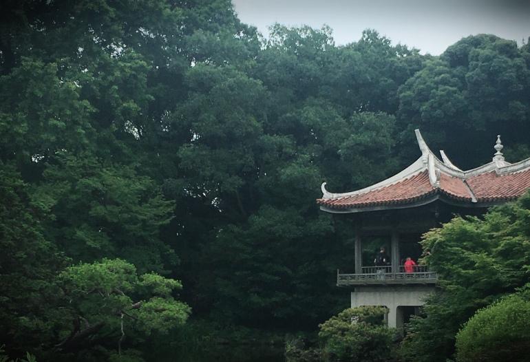 Jardín japones en shinjuku gyoen