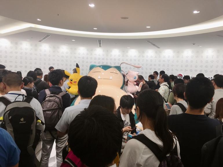 Raid masiva en el pokemon center de Tokio