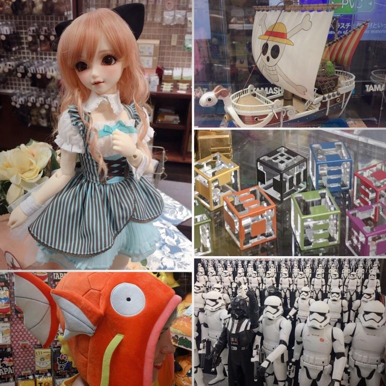 Compras en akihabara