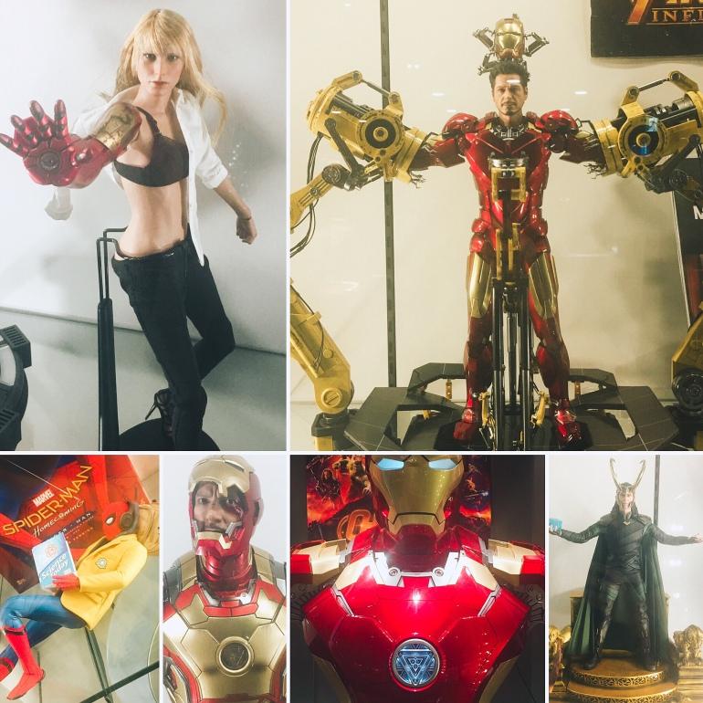 Exposición de Marvel