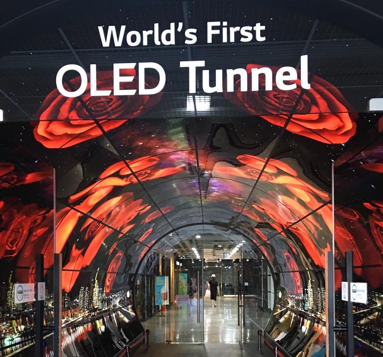Primer tunel oled del mundo
